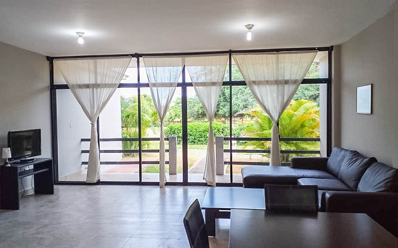 Living room San Clemente, Ecuador Private by Private