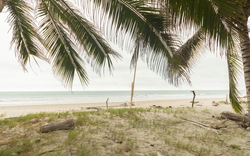 Beachfront view Jama, Ecuador DJI Phantom 4 by Jonathan Mueller