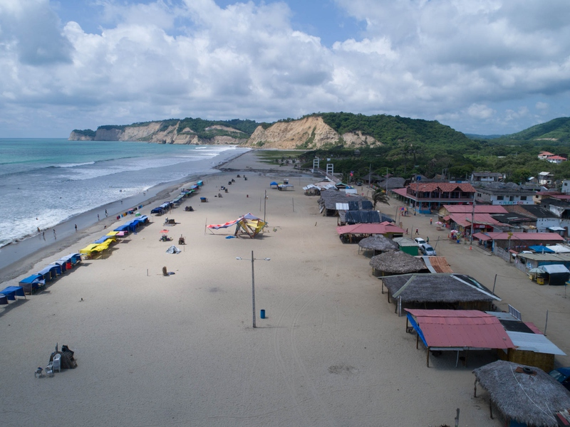 beach area Canoa, Ecuador DJI Phantom 4 by Jonathan Mueller