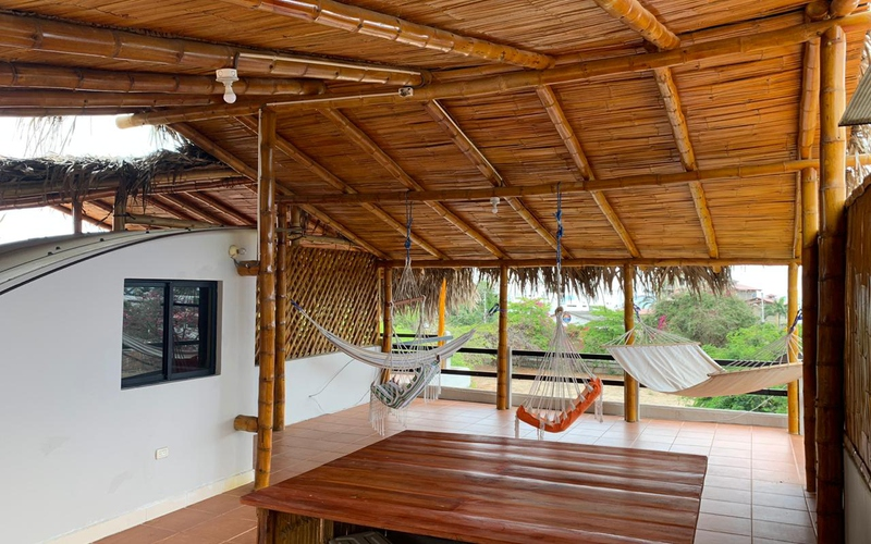 Rooftop Ocean View San Clemente, Ecuador Private by Private