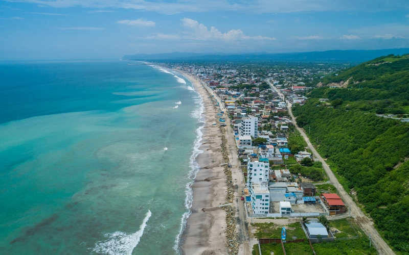 Aerial View Crucita, Ecuador Nikon D7500 by Lourdes Mendoza