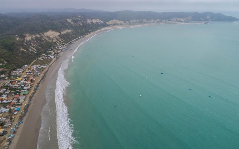 Aerial View Jama, Ecuador DJI Phantom 4 by Jonathan Mueller