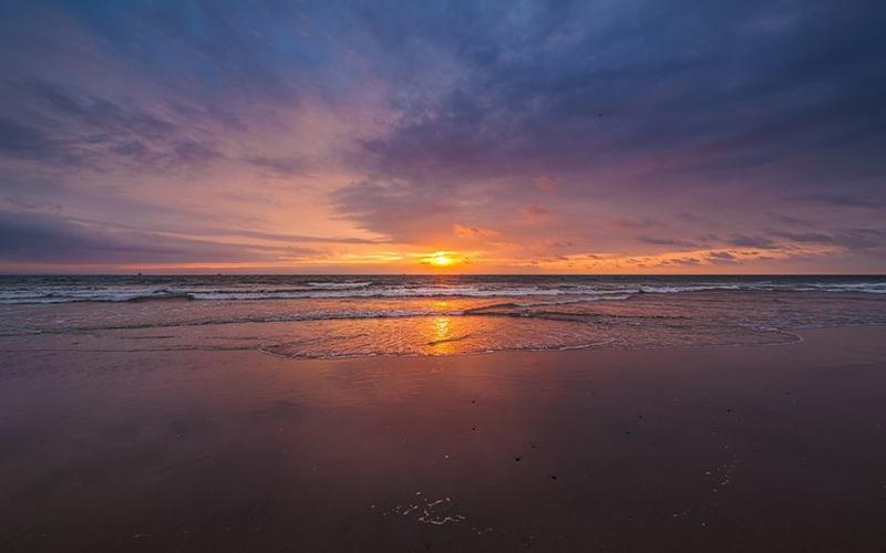 Beachfront view San Clemente, Ecuador Private by Jonathan Mueller