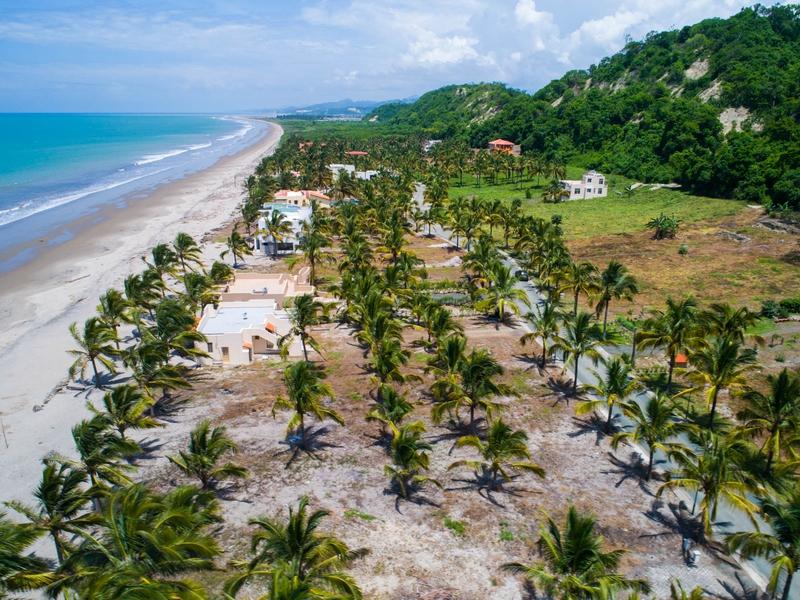 Aerial Beachfront Jama, Ecuador Nikon D7500 by Jonathan Mueller